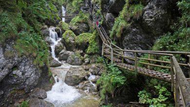 Wanderweg in der Steiermark - Bärenschützklamm